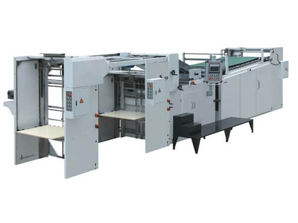 Cardboard laminating machine 01